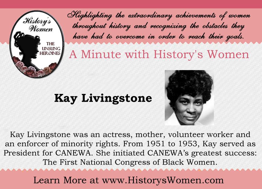 Social Reformer Kay Linvingstone