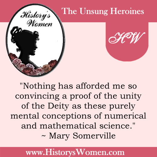 Quote by Mary Somerville