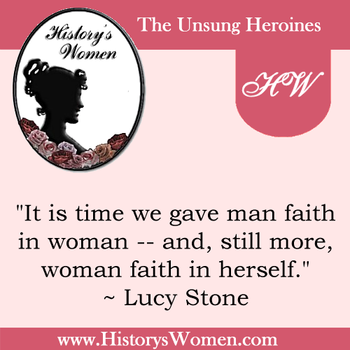 Quote by Lucy Stone