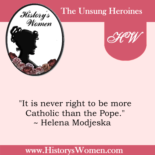 Quote by Helena Modjeska