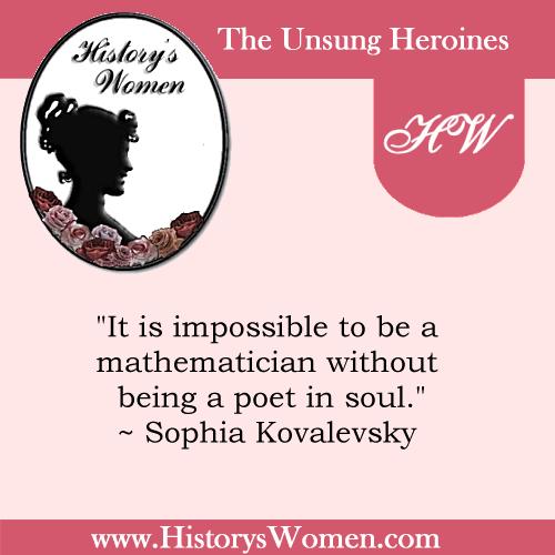 Quote by Sophia Kovalevsky