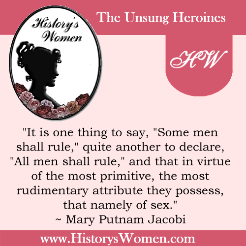 Quote by Mary Putnam Jacobi