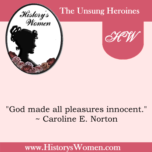 Quote by Caroline E. Norton