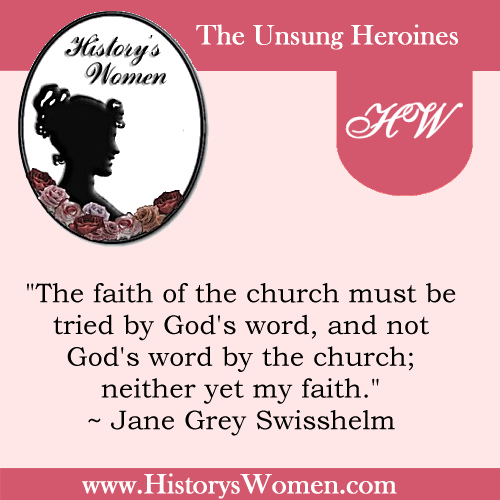 Quote by Jane Grey Swisshelm