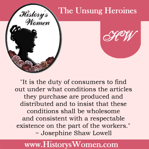 Quote by Josephine Shaw Lowell