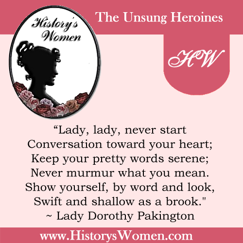 Quote by Lady Dorothy Packington