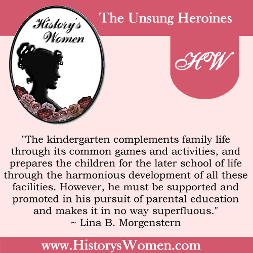 Quote by Lina B. Morgenstern