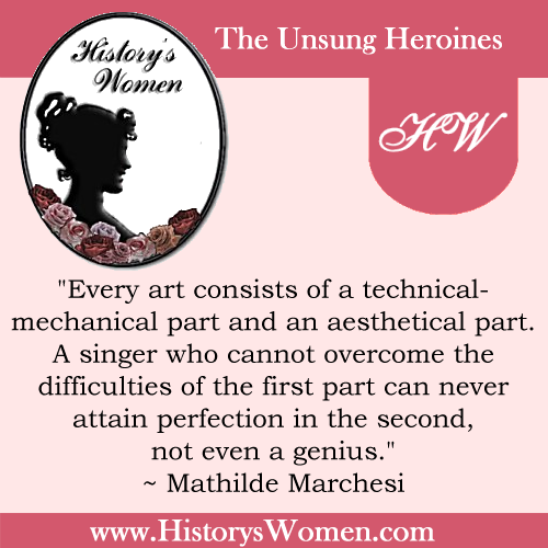 Quote by Mathilde Marchesi