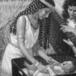 Thermuthis - Pharaoh's Daughter, Foster Mother of Moses